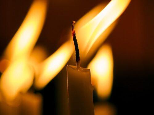 Свічка, молитва