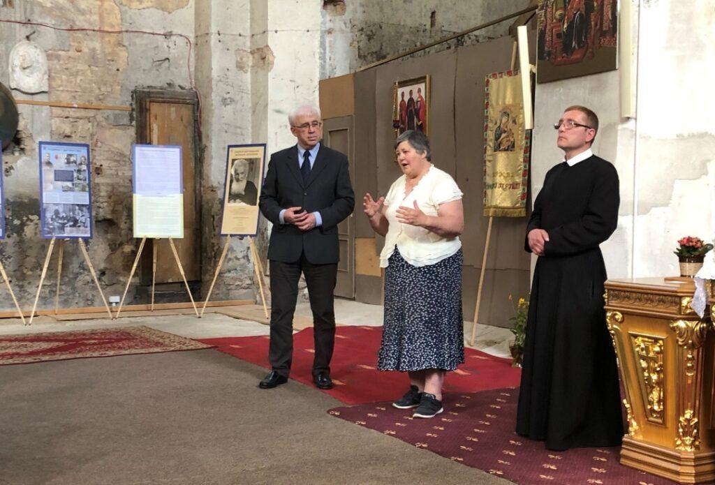 У Вільнюсі вшанували пам'ять Митрополита Андрея відкриттям виставки