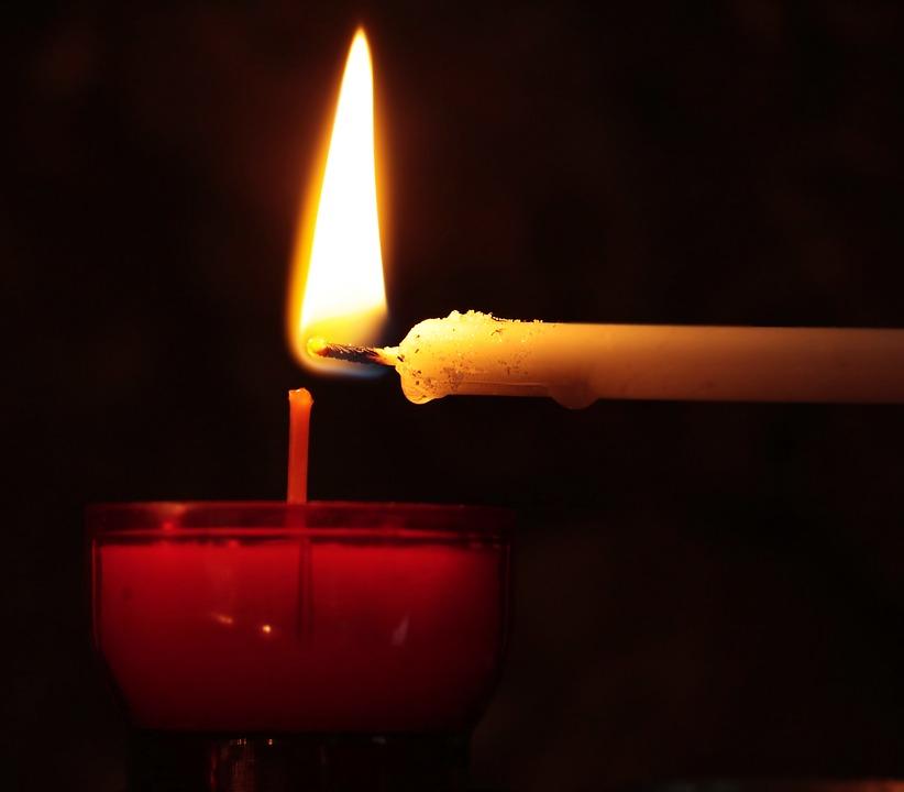 Свічка. молитва